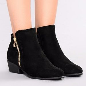 🆕 Faux Suede Ankle Booties